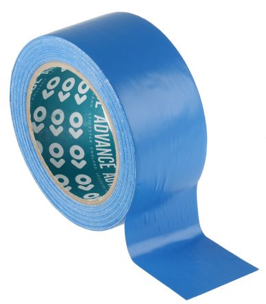 At8 Advance Tapes Advance Tapes At8 Blue Pvc Lane Marking Tape 50mm X 33m 420 243 Rs Malta Online