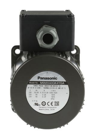 M9mx40gk4yga panasonic panasonic m9m reversible for 3 phase 4 pole ac induction motor