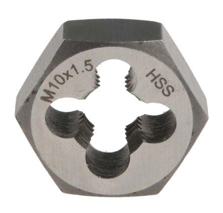 RS PRO 1.5mm Pitch M10 HSS Die Nut