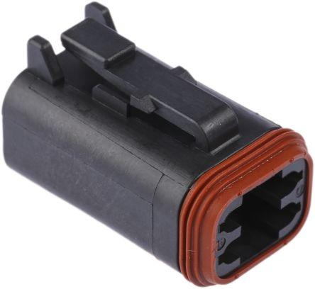 Deutsch, DT Automotive Connector Plug 4 Way