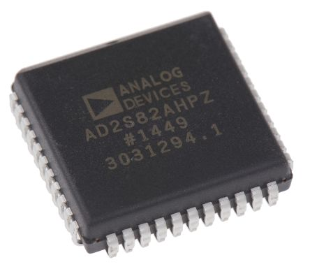 AD2S82AHPZ, Resolver to Digital Converter 16 bit- Parallel 16.25 rps, 44-Pin PLCC