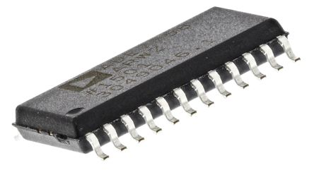 Analog Devices ADE7758ARWZ Energy Meter IC, 24-Pin SOIC W