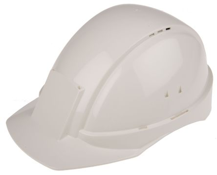 G2000 White ABS Standard Peak Vented Hard Hat product photo