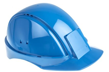 G2000 Blue ABS Standard Peak Vented Hard Hat product photo