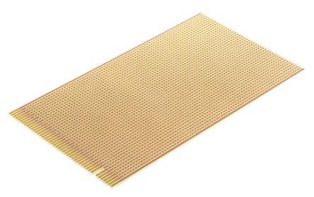 01-3225, Single-Sided Stripboard FR-2 114 x 203 x 1.6mm 43-Way Edge FR1 product photo