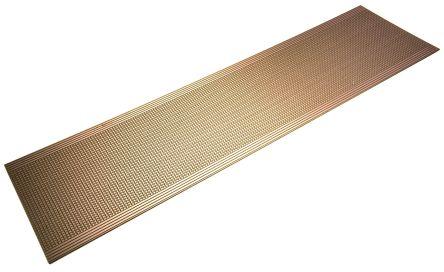 01-0043, Single-Sided Stripboard FR-2 454.66 x 119.38 x 1.6mm FR1 product photo