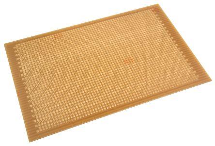 01-2680, Single-Sided Stripboard FR-2 176.53 x 111.76 x 1.6mm FR1 product photo