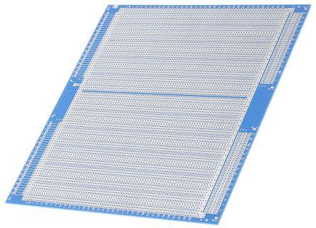 0435169  Vero Technologies 双面 条板, 环氧玻璃底座材料, 220 x 233.4 x 1.6mm, DIN 41612