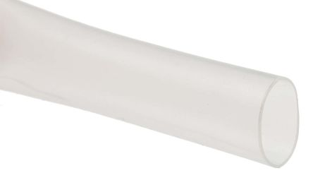 Heat Shrink Tubing Sleeve 2:1 Shrink Ratio 1.2m Length Various Colours Sizes 50mm, Clear