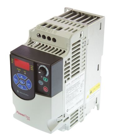 22f a1p6n103 allen bradley inverter drive, 1 phase in, 400hz outallen bradley main product technical reference quick start powerflex 4m