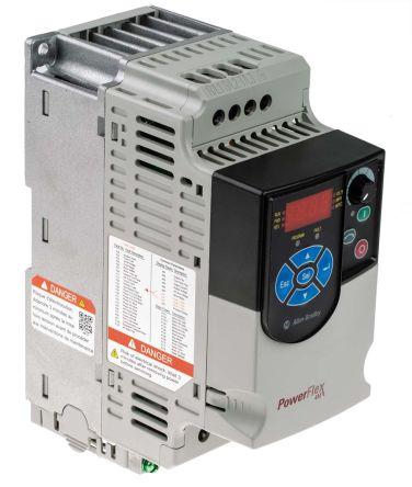 22f d1p5n113 allen bradley inverter drive, 3 phase in, 400hz outallen bradley main product technical reference quick start powerflex 4m