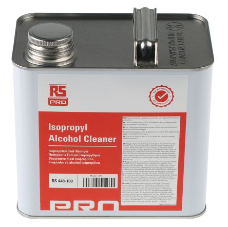 RS PRO 2 5 L Can Isopropyl Alcohol (IPA) for PCBs | RS