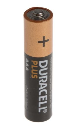 Duracell Plus Power Alkaline AAA Batteries 1.5V -8