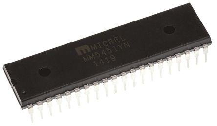 Microchip MM5451YN, LED Driver, 5-Digits, 5 V, 9 V, 40-Pin PDIP