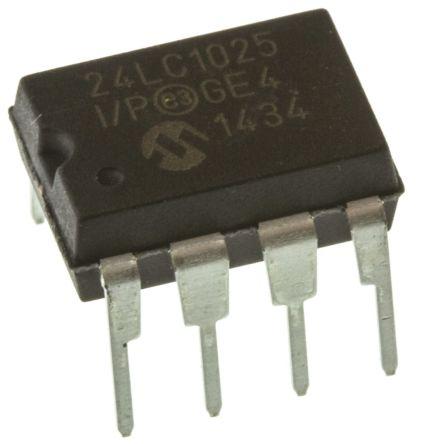 24LC256-I/SN   Microchip 24LC256-I/SN, 256kbit Serial EEPROM