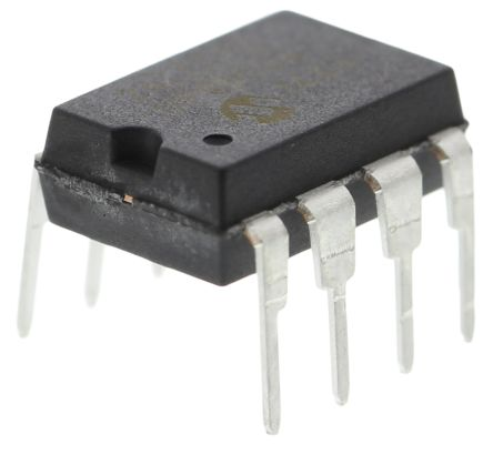 Microchip 24LC512-I/P, 512kbit Serial EEPROM Memory, 900ns 8-Pin PDIP I2C