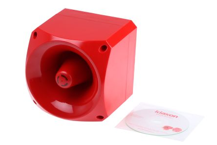pnv 0001 red pre recorded voice alarm 110db 24 v dc rs components rh uk rs online com