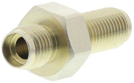 RS PRO SMA Fibre Optic Connector 200μm Fibre Size, 2dB Insertion Loss