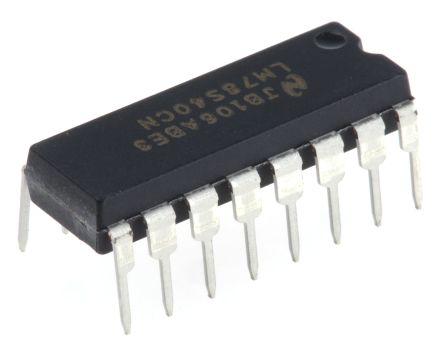 Texas Instruments LM78S40CN/NOPB, PWM Voltage Mode Controller, 100 kHz 16-Pin, MDIP