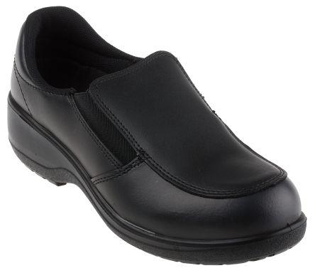 RS PRO Black Women Toe Cap Safety Shoes
