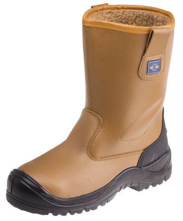 RS PRO Honey Steel Toe Cap Mens Safety