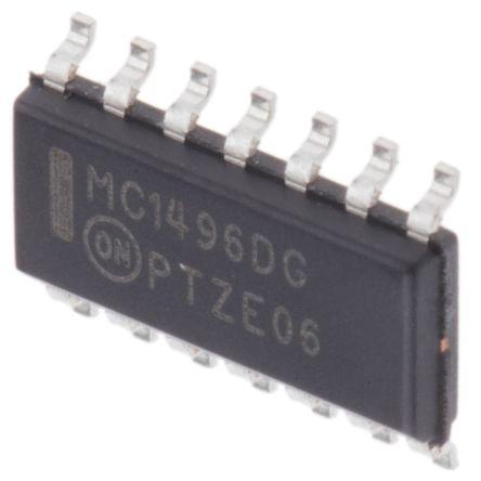 MC1496DG, Modulator/Demodulator Balanced 300MHz 14-Pin SOIC