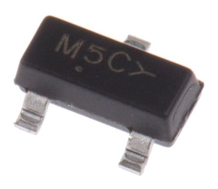 ON Semi 100V 200mA, Dual Silicon Junction Diode, 3-Pin SOT-23 MMBD7000LT1G