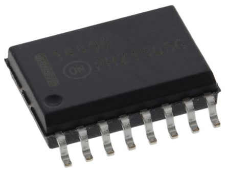 ON Semiconductor MC14490DWG, Hex Bounce Eliminator Circuit, 16-Pin SOIC
