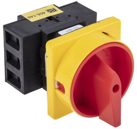 IP65 25 A 11 kW 6 Pole Enclosed Non Fused Isolator Switch