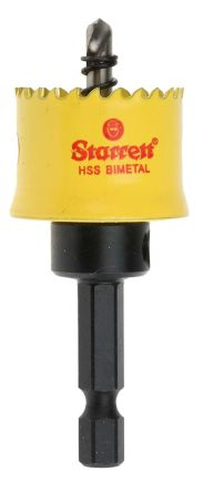 Starrett-HSS-25mm-Hole-Saw-Bi-Metal-12.7mm-Cut-Depth
