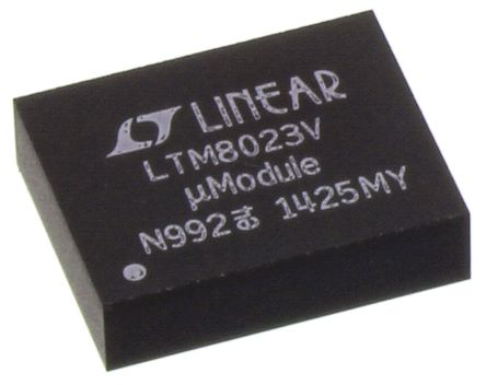 Linear Technology LTM8023EV#PBF, DC-DC Power Supply Module 2A 36 V Input, 200 → 2400 kHz 50-Pin, LGA