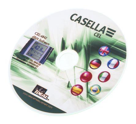 Casella Cel CEL-6842/RS Sound Level Meter Software, For Use With CEL 200, Windows 7, Windows VISTA, Windows XP