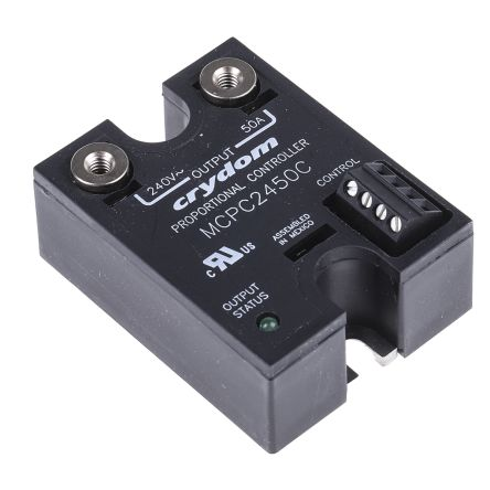 Sensata / Crydom 50 A Solid State Relay, DC, Panel Mount, 280 V rms Maximum  Load