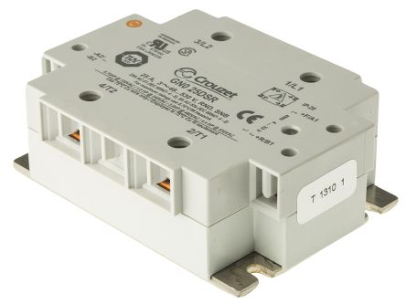 Crouzet 25 A Solid State Relay SCR 530 V rms Maximum Load