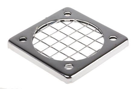 Fan Filter, Fan Mounted 45 x 45mm, for 40mm Fan Steel
