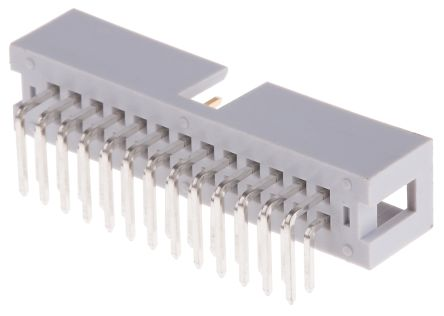 057 Series 2.54mm Pitch Right Angle IDC Connector, Male, 26 Way, 2 Row product photo