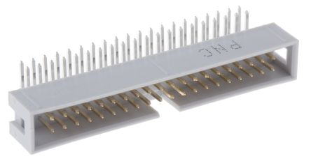 057 Series 2.54mm Pitch Right Angle IDC Connector, Male, 40 Way, 2 Row product photo
