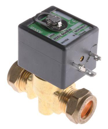 H262-604BW.12/DC | Asco Magnetventil, 12 V dc, 2 x 15mm | RS Components