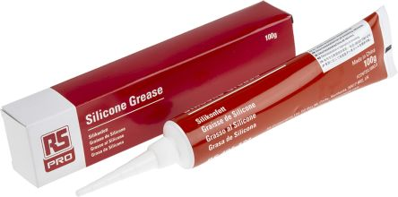 RS Pro Silicone Grease 100 g Tube