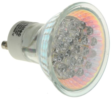 GU10 LED Cluster Light, White, 20 mA, 230 V ac, 50mm, 10 → 20° view angle