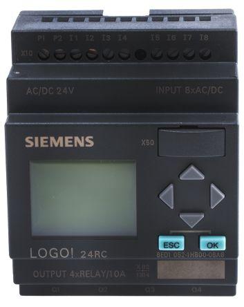 Automate LOGO  module 8 entrés 4 sorties  12//24RC