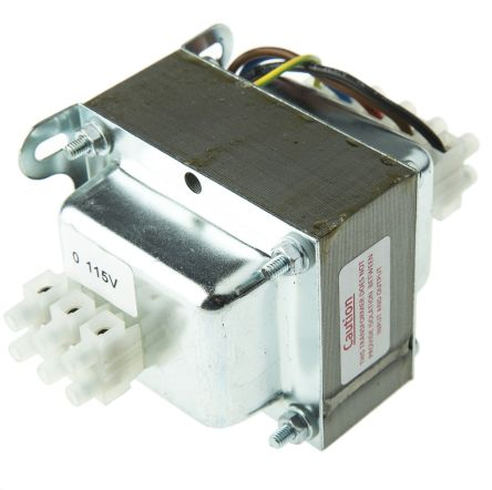 100VA Enclosed Autotransformer, 220 V ac, 230 V ac, 240 V ac Primary, 115V ac Secondary product photo
