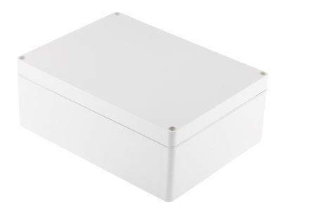 Bopla Euromas, ABS Enclosure, IP65, Flanged, 200 x 150 x 75mm Light Grey