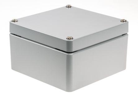 Rose Aluminium Standard, Die Cast Aluminium Enclosure, IP66, 160 x 160 x  90mm Lloyds Register, Maritime Register, UL 508 | Rose | RS Components UAE