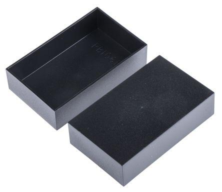 Black ABS Potting Box, 100 x 60 x 25mm product photo
