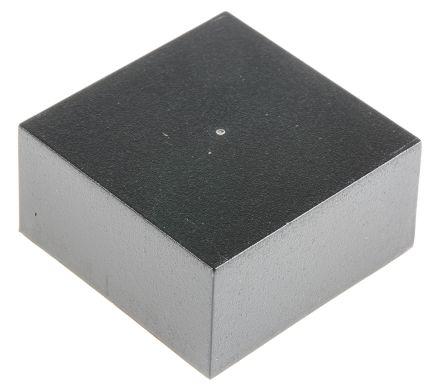 Black ABS Potting Box, 40 x 40 x 20mm product photo