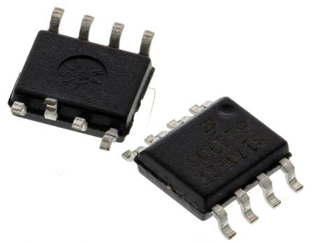 EL8170FSZ Intersil, Instrumentation Amplifier, 0.2mV Offset, R-RI/O, 3 V, 5 V, 8-Pin SOIC