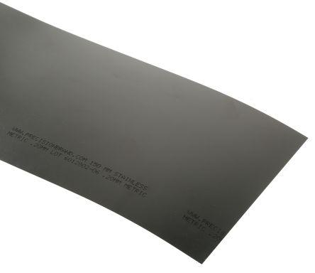 Red Steel Shim, 1.25m x 150mm x 0.2mm