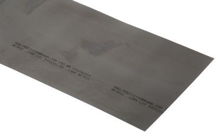 Red Steel Shim, 1.25m x 150mm x 0.1mm