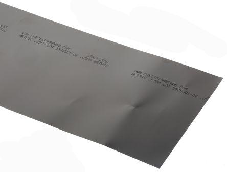 Red Steel Shim, 1.25m x 150mm x 0.05mm